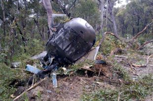 6 dead in a Airbus Helicopter crash in Satya Devi, Dhading, Nepal