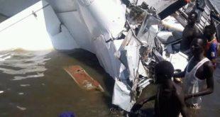 Aircraft crashed into Lake Yirol, South Sudan, 19 Dead