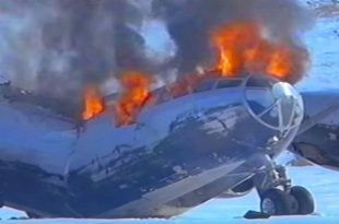 B-29 Restored After Being Frozen For 50 Years but Explodes During Takeoff