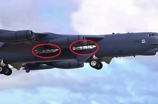 Video of B-52 Dropping Quickstrike-ER New Mine from 50 Miles Away
