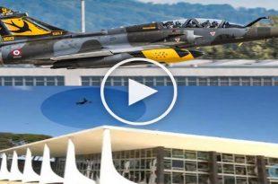Watch: Brazilian Mirage 2000 shatters windows of Supreme Court Building