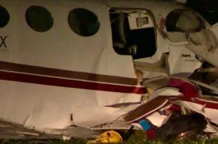 Cessna 340 plane crash in Kimball Township, Michigan