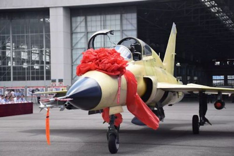 China's new FTC-2000G multi-role combat aircraft