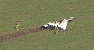 USAF T-6A Training Plane Crashes In San Antonio, Texas