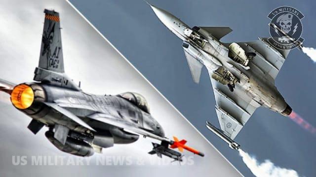 F-16 Fighting Falcon vs Saab Jas 39 Gripen Fighter jet