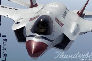 F-35 in Thunderbird paint - Will the F-35 Be the Next Thunderbirds Jet?