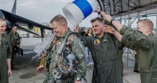 Watch: Final Flight Tradition of United State Marine Corps