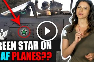 Green Star on USAF Planes: Why this Air Force marking is so rare