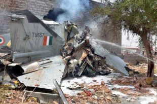 Alarming number of INDIAN AIR FORCE Aircraft Crash in last 9 month