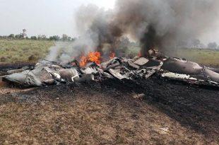 Indian Air Force MiG-27 Crashes near Devalia village, Jodhpur