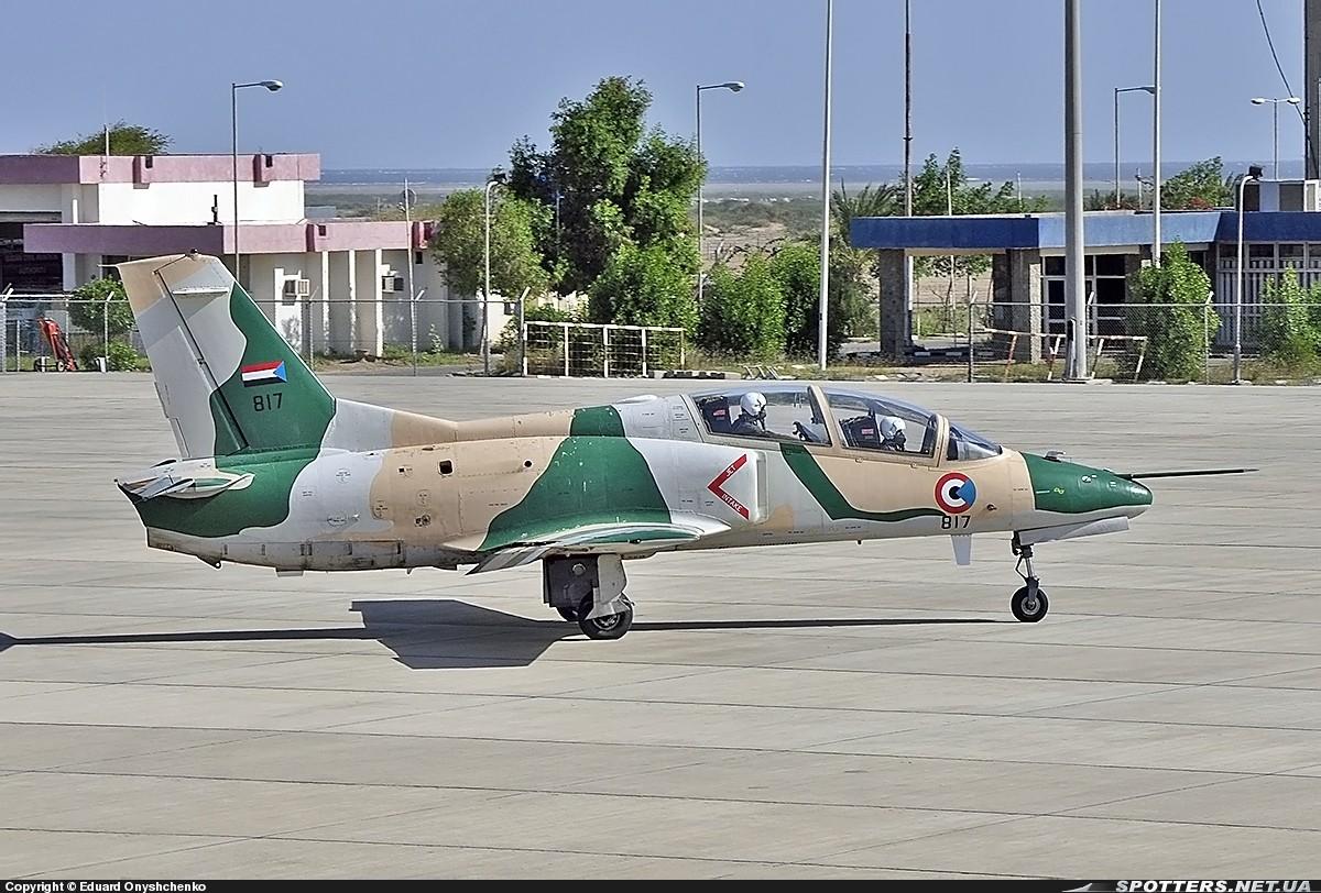 Sudanese Armed Forces K-8 fighter jet Crashes near Omdurman