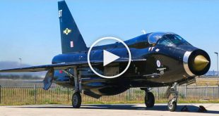 Last Electric Lightning T5 Restored To Flying Condition