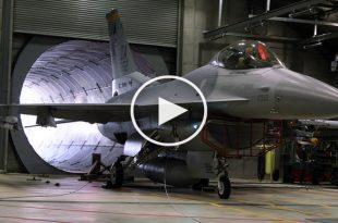 Listen To F-16 General Electric F110 After-burning Turbofan Jet Engine