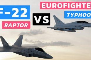Lockheed Martin F-22 Raptor vs Eurofighter Typhoon