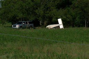 Piper PA-28 Cherokee plane crash near Kaplan