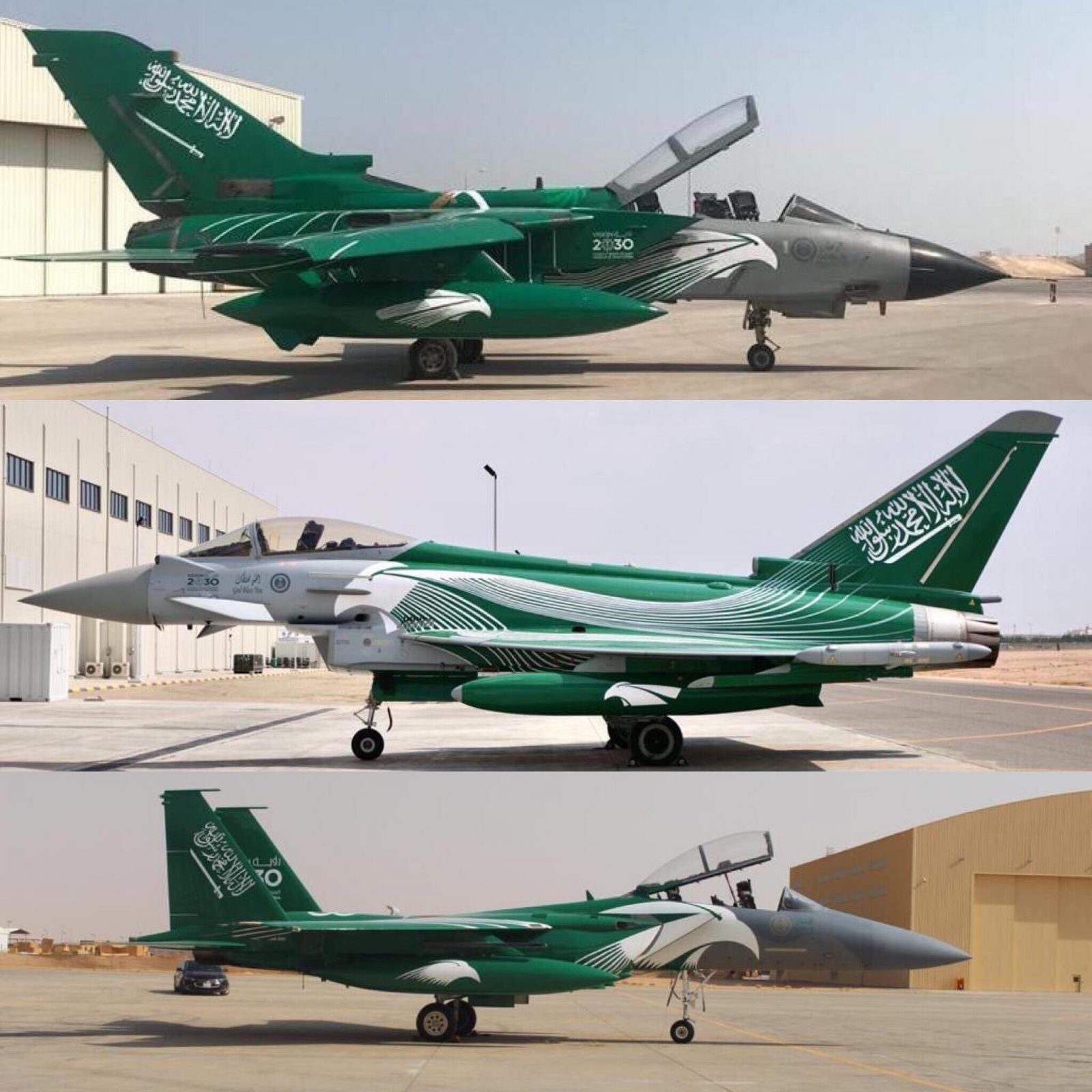 RSAF Special Color Jets For Kingdom's 88th National Day Celebrations