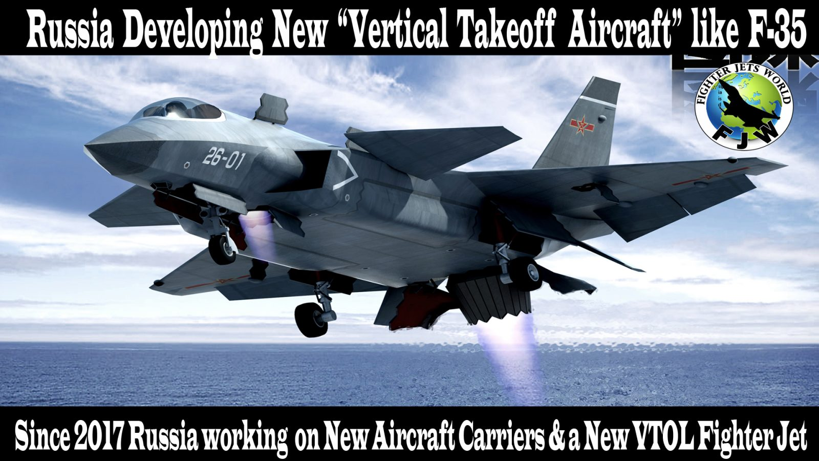 russia making new vertical takeoff and landing fighter jet like f 35