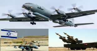 Russian Military Aircraft with 14 on board shot down by Syrian air defense