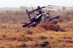 Saudi Arabian Army AH-64 Apache helicopter crashes in eastern Yemen, 2 killed