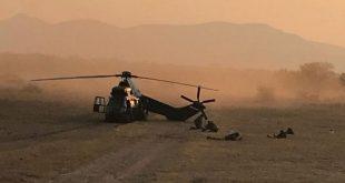 South African Air Force helicopter crashed at Roodewal Air Force Base