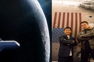 SpaceX unveiled the first private passenger to fly around the Moon