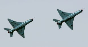 Two Nigerian Air Force Chengdu F-7Ni collided midair near Abuja, Nigeria
