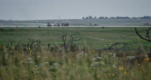USAF Northrop T-38 Talon crashes at Sheppard AFB