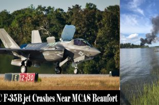 USMC F-35B Stealth Fighter jet Crashes Near MCAS Beaufort