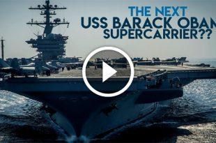 The Next U.S. Supercarrier: USS Barack Obama or USS Donald Trump?