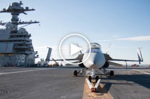 USS Gerald R. Ford-class aircraft carrier Flight Deck Activity