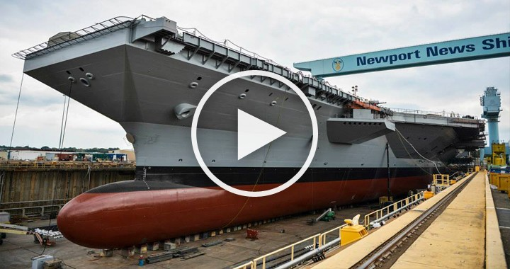 USS John F. Kennedy: America's Next Super Aircraft Carrier Is Almost 50% Complete