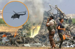 12 Dead ( 2 Ukrainian crew members and 10 Afghan soldiers) In Mi-8 helicopter Crash
