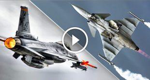 F-16 Fighting Falcon vs Saab Jas 39 Gripen