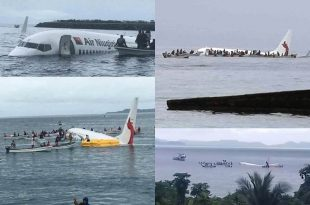 Air Niugini Boeing 737 crashed into Pacific with 47 on-board