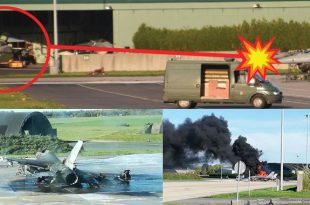 Belgian F-16 completely destroyed due to Technician mistake