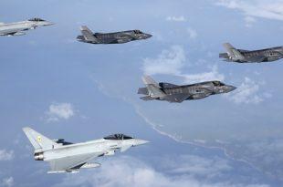 Belgium Picks F-35 Lightning II over Eurofighter Typhoon