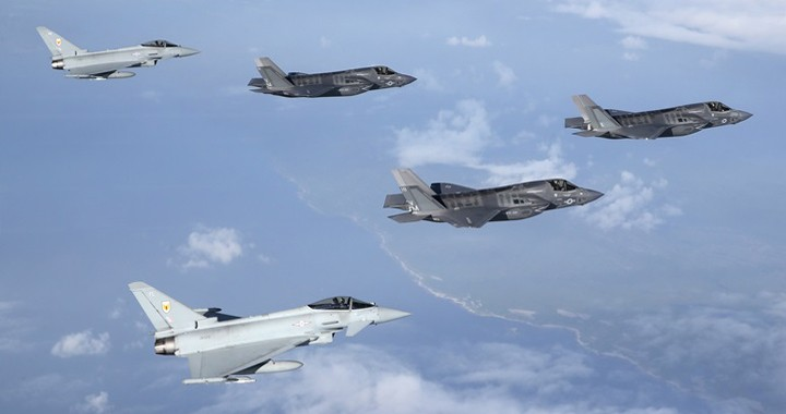 Belgium Picks F-35 Lightning II over Eurofighter Typhoon