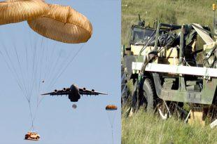 C-17 accidentally drops Humvee Over North Carolina Neighborhood