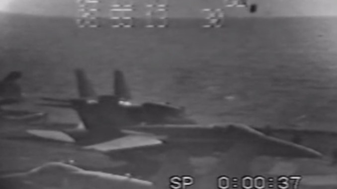 F-14 blew another Tomcat off a flight deck: why aircraft carriers have Jet Blast Deflectors?