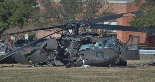 One Dead and 3 Injured In Sikorsky UH-60A Black Hawk Helicopter Crash