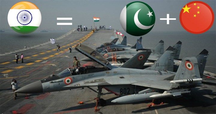 India Might Be Wasting Its Time and money on Aircraft Carriers