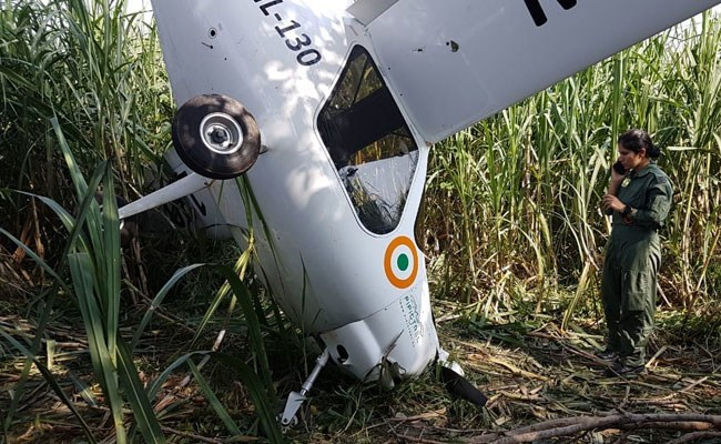 Indian Air Force ML-130 Crashed in Baghpat, Uttar Prades