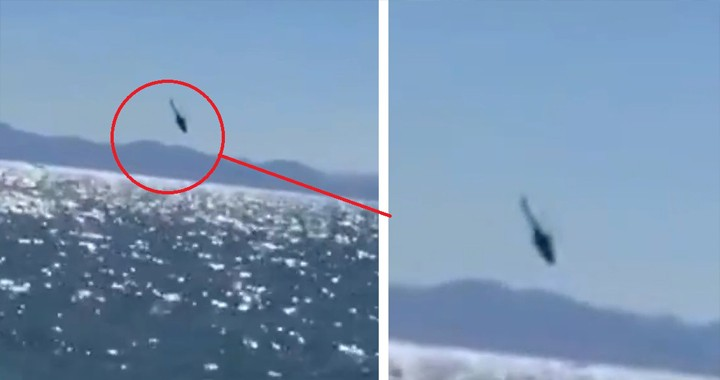 Video of Mexican Navy Mi-17 crashed into the sea with 12 onboard