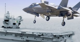 Royal Navy invented a new way to land F-35s with heavy payloads