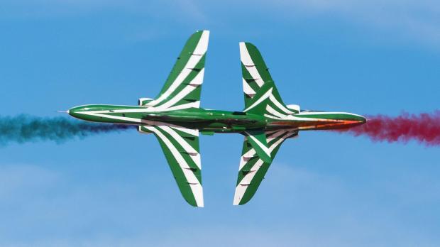 Royal Saudi Air Force BAe Hawk crash near Jordan border