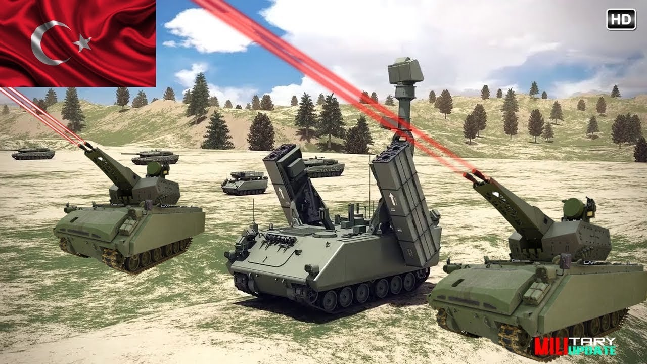 Run-in of Future TECHNOLOGIES of the TURKEY Army