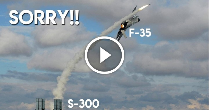 S-300 is not capable of defeating F-35 Super-Stealth fighter jet
