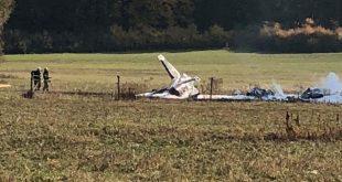Slovakia Air Force Aero L-39ZAM Albatros crashed north of Zvolen