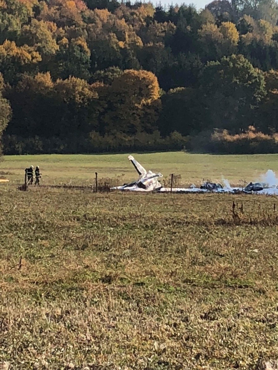 Slovakia Air Force Aero L-39ZAM Albatros crashed north of Zvolen