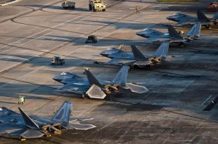 Surviving F-22s Being Flown Out Of Tyndall after Hurricane Michael
